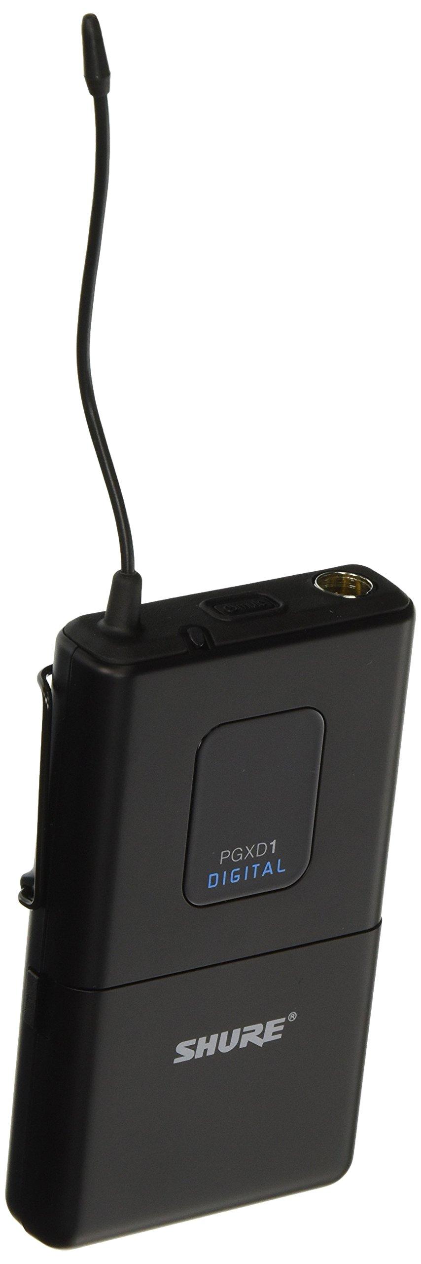 Shure PGXD1=-X8 Digital Wireless Bodypack Transmitter by Shure