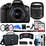 Canon Rebel T6i Digital SLR Camera DigitalAndMore Creator ESSENTIAL Starter Bundle