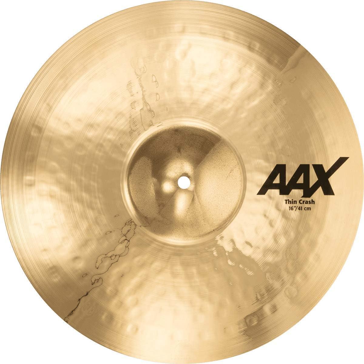 AAX Thin Natural Finish 21806XC 18 Sabian Crash Cymbal