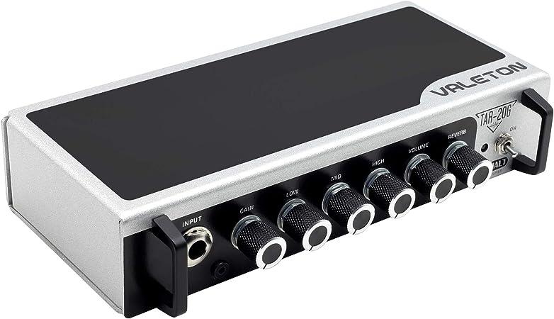 Valeton - Amplificador de guitarra con cabezal TAR-20G Amp Pedal Plataforma de Estudio Escritorio con CAB SIM