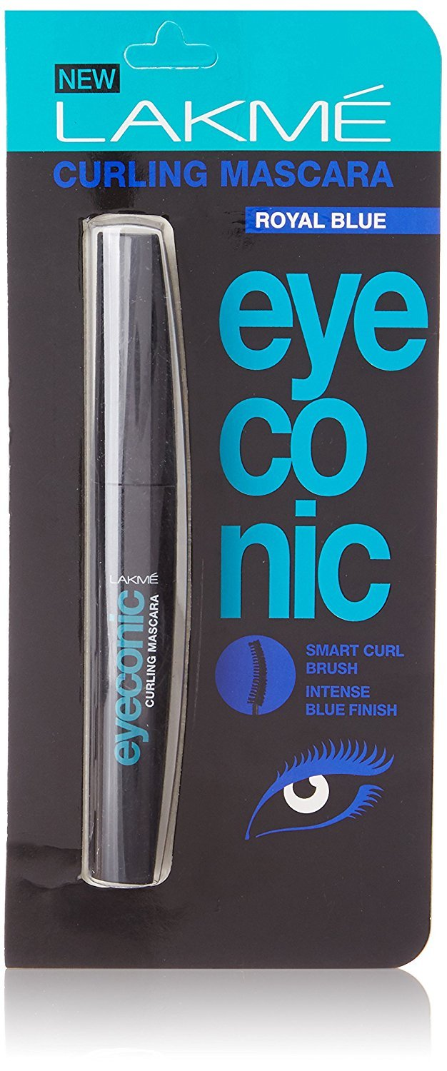 Lakme Eyeconic Curling Mascara, Royal Blue, 9ml