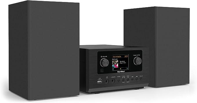 Karcher - Minicadena con Reproductor de CD FM, Dab+, Internet ...