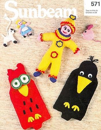Strickmuster Bazaar Spielzeug Maus Clown Crochet Crow Hot Flasche ...