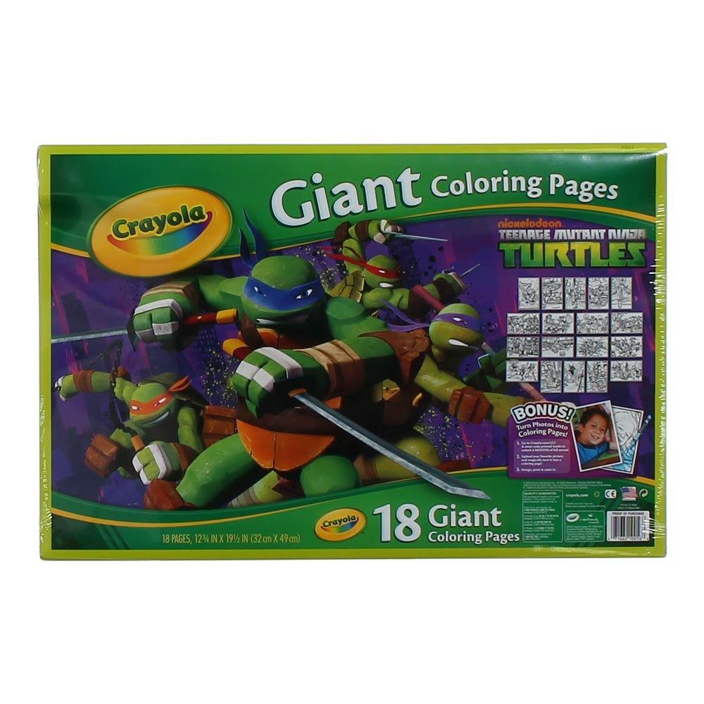 Amazoncom Crayola Kids Teenage Mutant Ninja Turtles TMNT Giant
