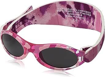 Adventure BanZ Baby Sunglasses, Pink Diva Camo, Infants 0 2 Years