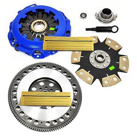 EFT fase 4 Cable de embrague Kit & volante para baja Forester XT legado Impreza WRX