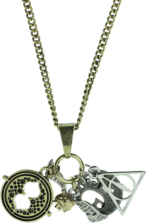 Harry Potter Platform 9 3//4 Gold Stamped Alloy Pendant Necklace Jewelry