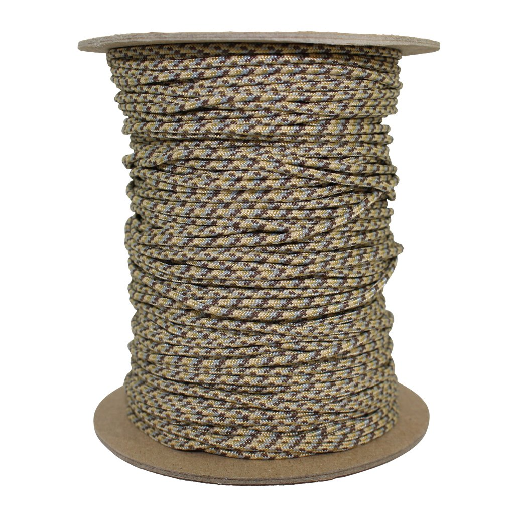 SGT KNOTS Spectra Cord (1.8mm) Speargun Line - Fishing Line - All-Purpose Utility Cord - for Tie-Downs, Gear Bundles, Boot Laces, Camping, Survival, Marine, More (100 Feet Coil - Desert Camo) by SGT KNOTS (Image #2)