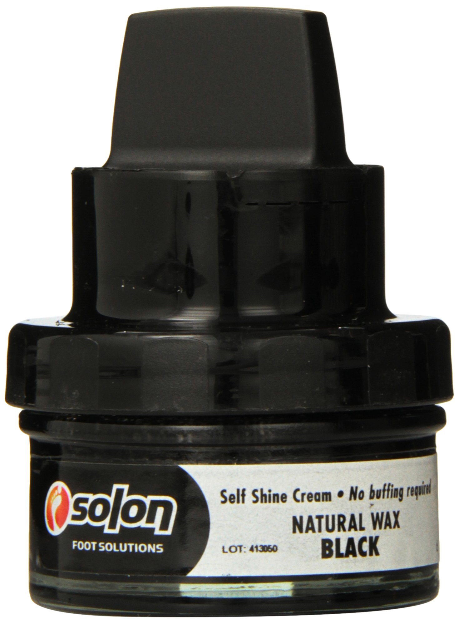 Solon Foot Solutions Self Shine Cream, Black, 3-Ounce (Pack of 4)