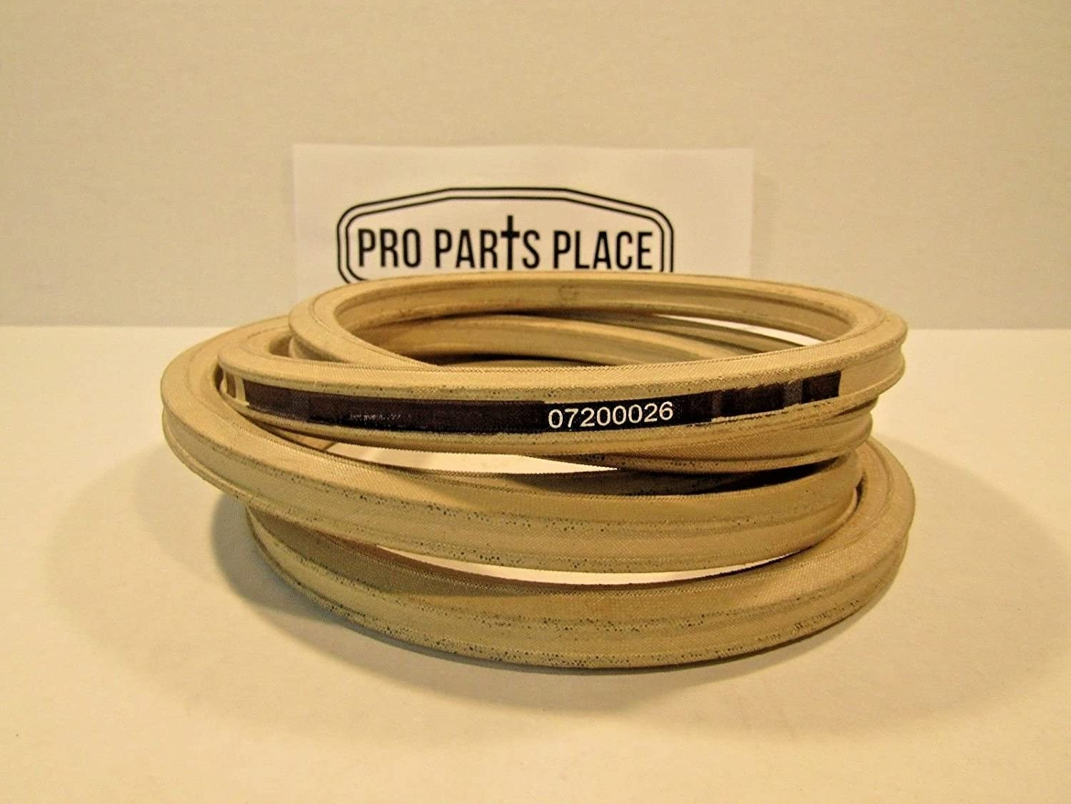 Aramid Exact OEM Spec Belt Ariens Gravely 07200026 7200026 Pro Turn-Double V