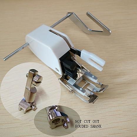 Prensatelas móvil Honeysew para máquinas de coser Bernina 830 1630, de estilo antiguo, que incluye pie y adaptador: Amazon.es: Hogar