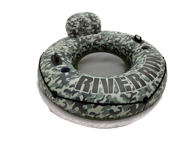 Intex Camo River Run I Inflatable Floating Tube Raft (2 Pack) | 58835EP by Intex (Image #2)