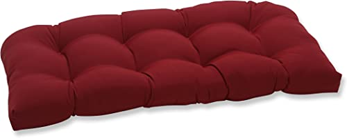 Pillow Perfect Outdoor/Indoor Pompeii Tufted Loveseat Cushion