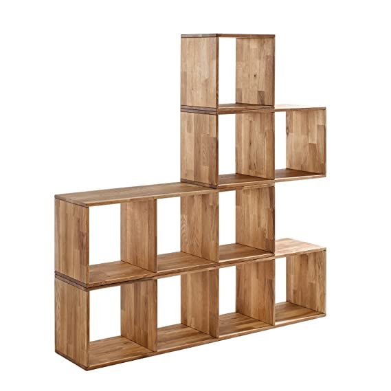 Stackable cubes CREATE YOUR OWN LOOK Maximo 4 Cross Cube Wall Mountable