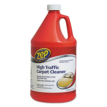 Zep Commercial 1041689 High Traffic Carpet Cleaner, 128 oz Bottle