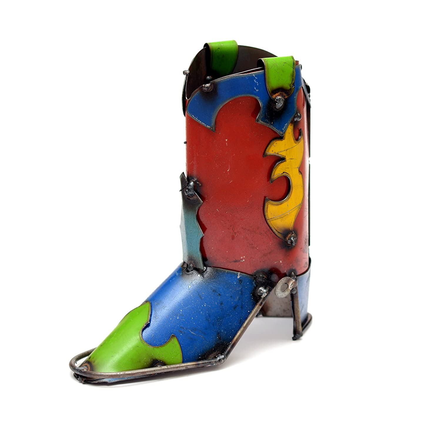 Rustic Arrow 9'x4'x10.5' Multicolored Small Boot, 9 by 4 by 10.5-Inch