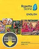 Rosetta Stone English British Level 1-3 Set for Mac [Download]