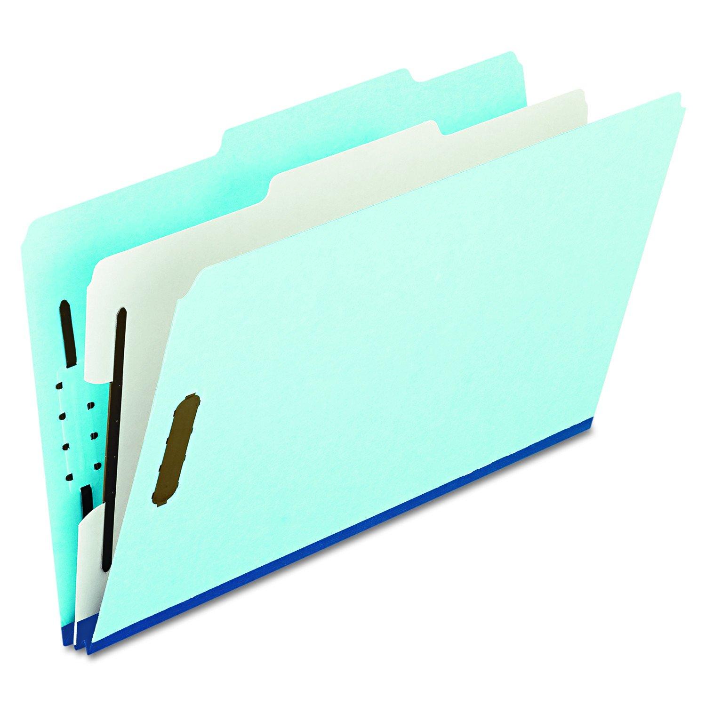 la red entera más baja Pressboard Classification Folder, 2/5 Tab, Tab, Tab, Legal, Four-Section, Blue, 10/Box  Centro comercial profesional integrado en línea.