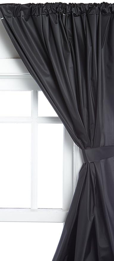 Amazoncom Carnation Home Fashions Vinyl Bathroom Window Curtain