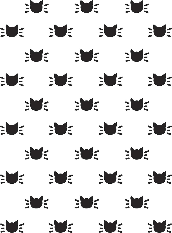Three Cute KITTIES 4.25 x 5.75 Darice Embossing Folder Cat Kitten 30041363