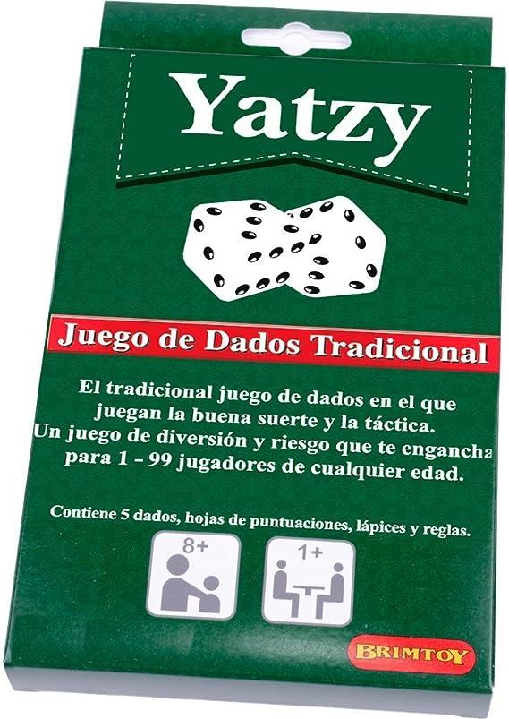 Yatzy - Juego de Dados Tradicional: Amazon.es: Juguetes y juegos