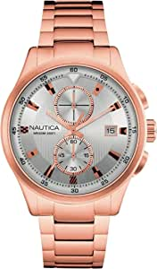 Nautica Casual Watch For Men Analog Stainless Steel - NAD23504G