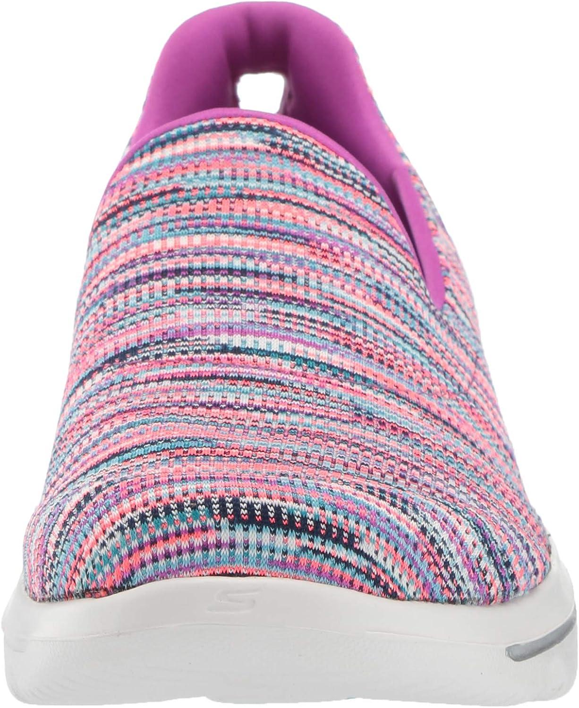 Skechers Women's Go Walk Evolution Ultra-Frenzied Sneaker Purple/Pink