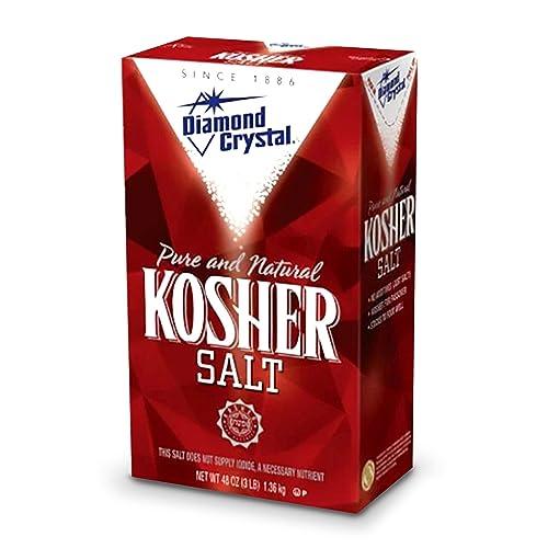 Diamond Crystal Pure & Natural Kosher Salt