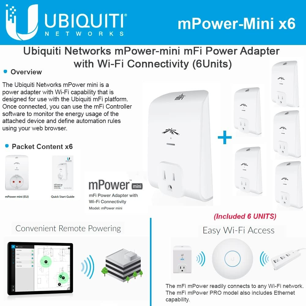 Ubiquiti Networks MPOWER-MINI mFI 1-Port Power Wi-Fi