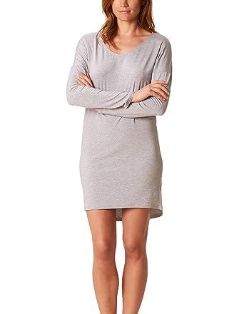Mey 16073-519 Women s Lovestory Light Grey Loungewear Nightdress at ... cc0a77fbf