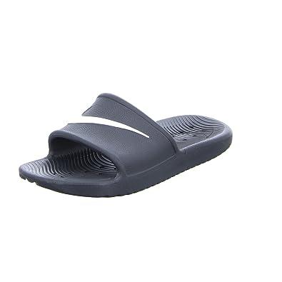 986a52e02 Nike Men s Kawa Shower Slide Sandals Black White Size 12 M US