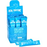 Vital Proteins Collagen Peptides Powder Supplement (Type I, III) Travel Packs, Hydrolyzed Collagen for Skin Hair Nail…