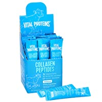 Vital Proteins Collagen Peptides Powder Supplement (Type I, III) Travel Packs, Hydrolyzed Collagen for Skin Hair Nail Joint - Dairy & Gluten Free - 10g per Serving - Unflavored (20ct per Box)