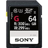 Sony SDXC 64GB UHS-II R:300MB/s W:299MB/s 4K対応 U3 Class10 SF-G64 ソニー [並行輸入品]