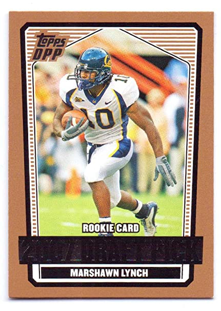 huge discount 197ca 7ec23 Marshawn Lynch 2007 Topps Draft Picks & Prospects Rookie ...