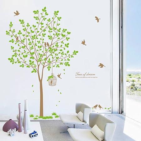 1 autocollant mural amovible en PVC pour enfants