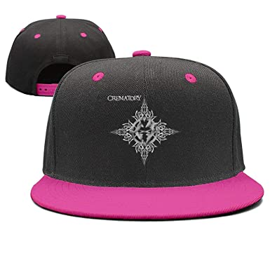 7ded95e24a458 Amazon.com  Crematory-Melodic-Death-metaldrums-Gothic- Adjustable Baseball  Cap Hats for Men Women Fashion Classic Snapback Trucker Caps  Clothing