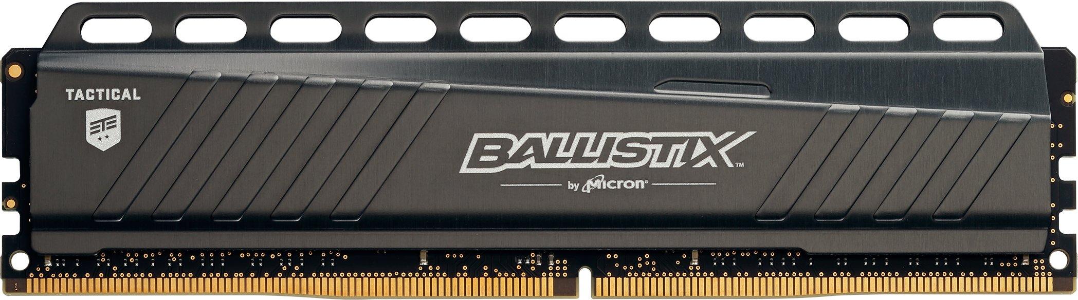 Ballistix Tactical 8GB Single DDR4 2666 MT/s (PC4-21300) DIMM 288-Pin Memory - BLT8G4D26AFTA