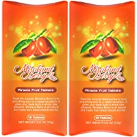 MiralandBerry Miracle Fruit Tablets, Miracle Berry Tablets, 20 Count, Turns Sour Foods to Sweet