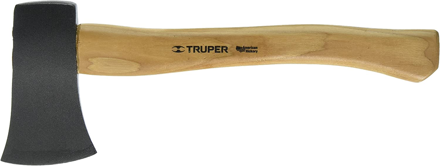 Truper 30514 1-1 4-Pound Camp Axe, Hickory Handle, 14-Inch