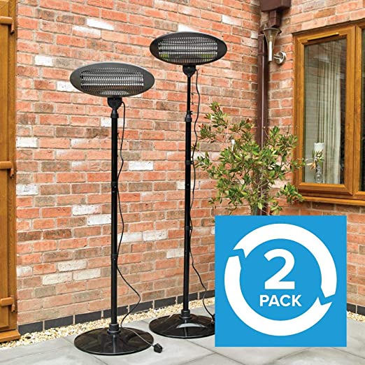 Electric Patio Heater 2kw | Arnold & Walker