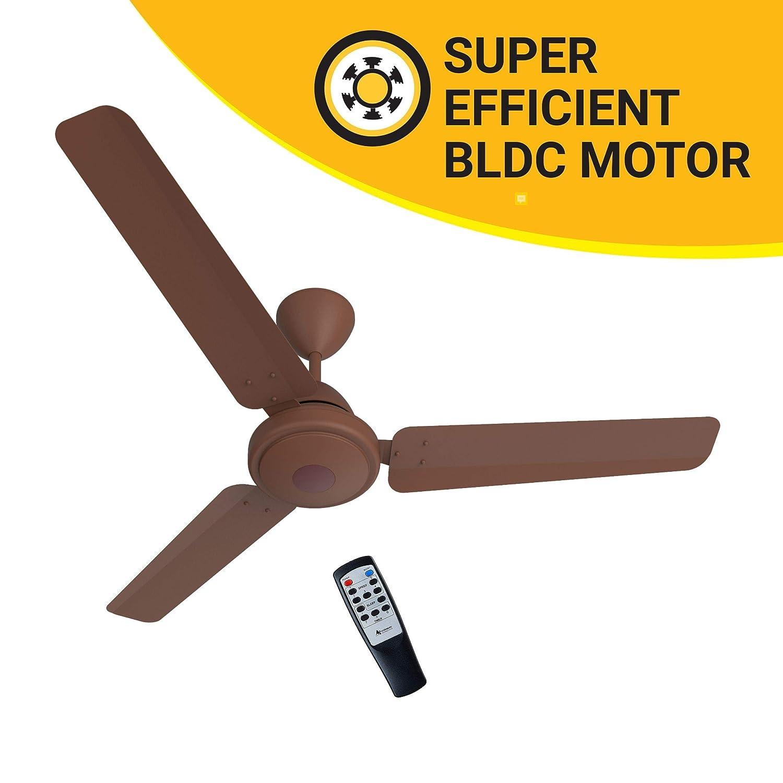 3 Blade Ceiling Fan Efficio 1200 mm BLDC Motor with Remote