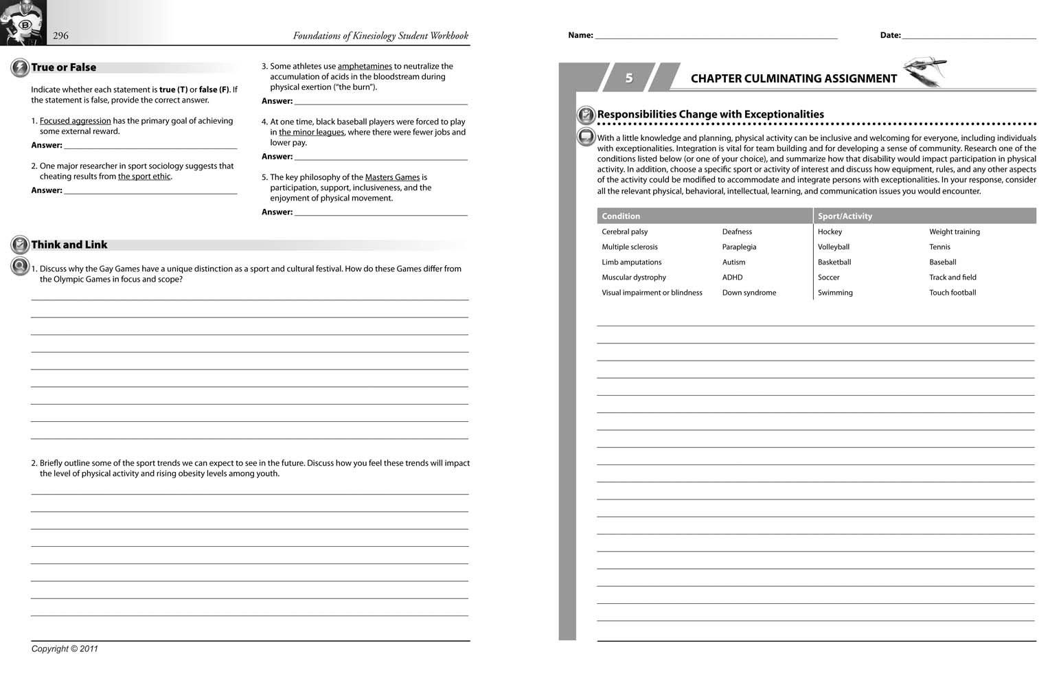 Kinesiology Student Workbook (2nd edition): P. Nalli, P. Maione, P ...