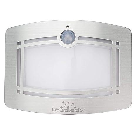 Sensor de movimiento LED luz de pared con plomo® funciona con pilas/modo de