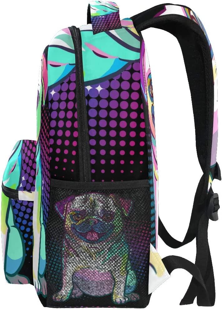 waterproof rucksack Tenderlybae Pop art All Over Printed Backpack for boys and for girls for School Work Travel with laptop space