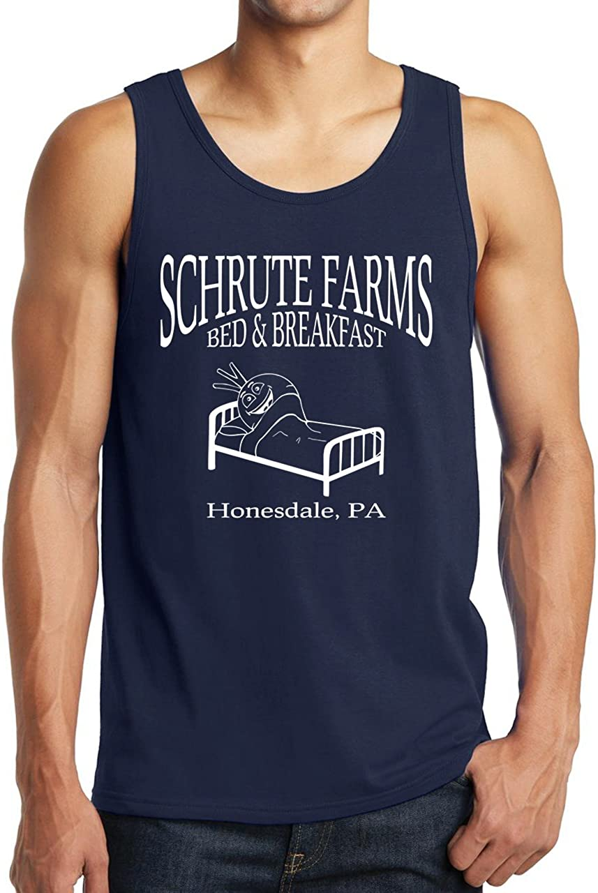 Schrute Farms Bed & Breakfast Beets Tank Tops - Honesdale PA