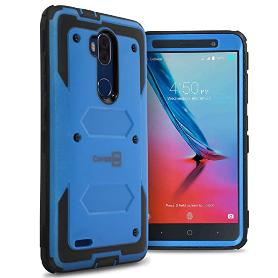 Amazoncom Zte Blade Max 3 Phone Case Zte Max Blue Phone Case
