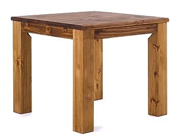Brasilmöbel® Tisch 90x90 Rio Classiko - Brasil Pinie Massivholz ...