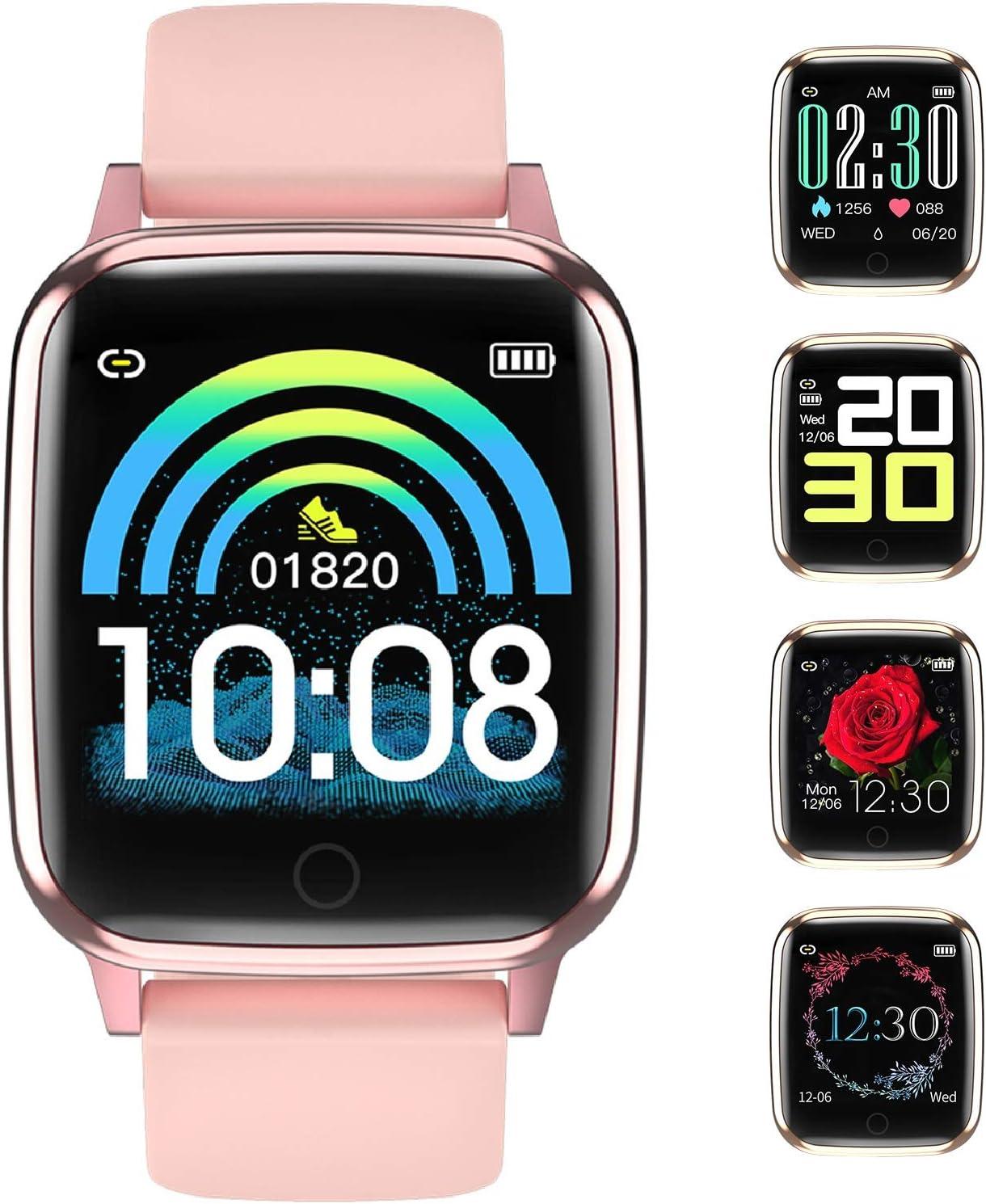 Smartwatch Impermeable IP67 Reloj Inteligente con Cronómetro ...