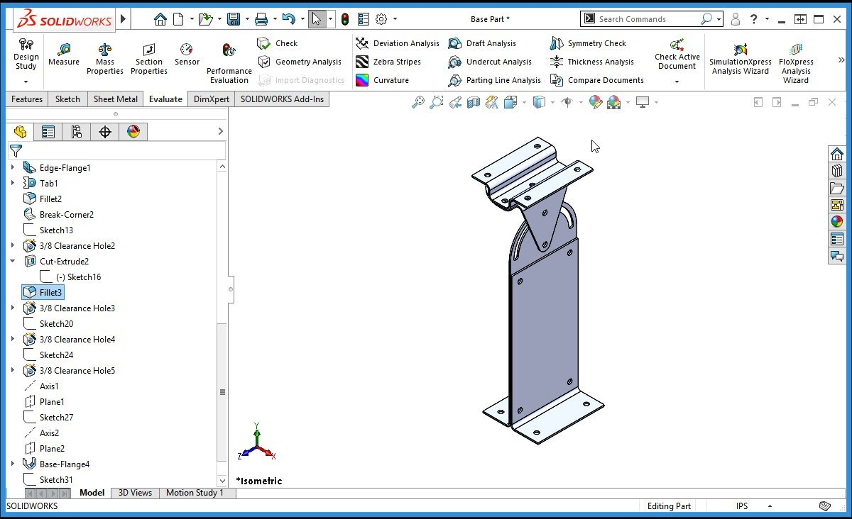 Amazon com: SolidWorks 2018 Training Course - Sheet Metal
